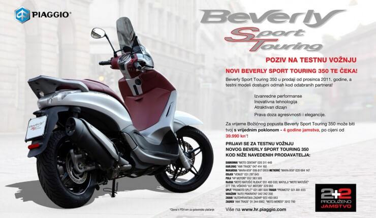 Beverly 350 u Hrvatskoj