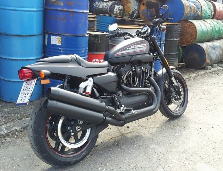 Test: Harley Davidson XR1200X