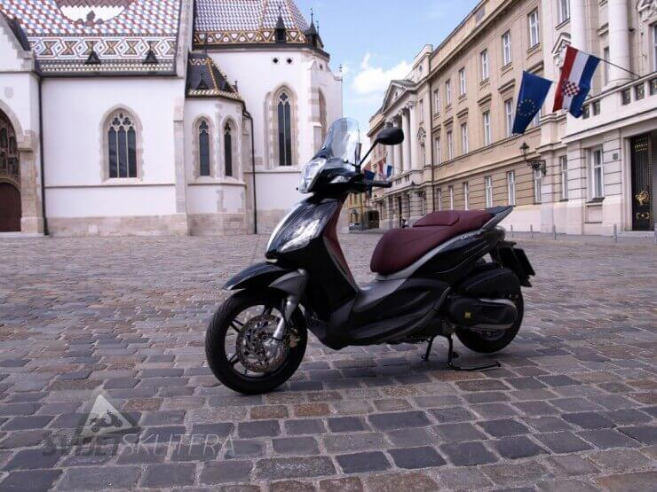 Test Piaggio Beverly Sport Touring 350