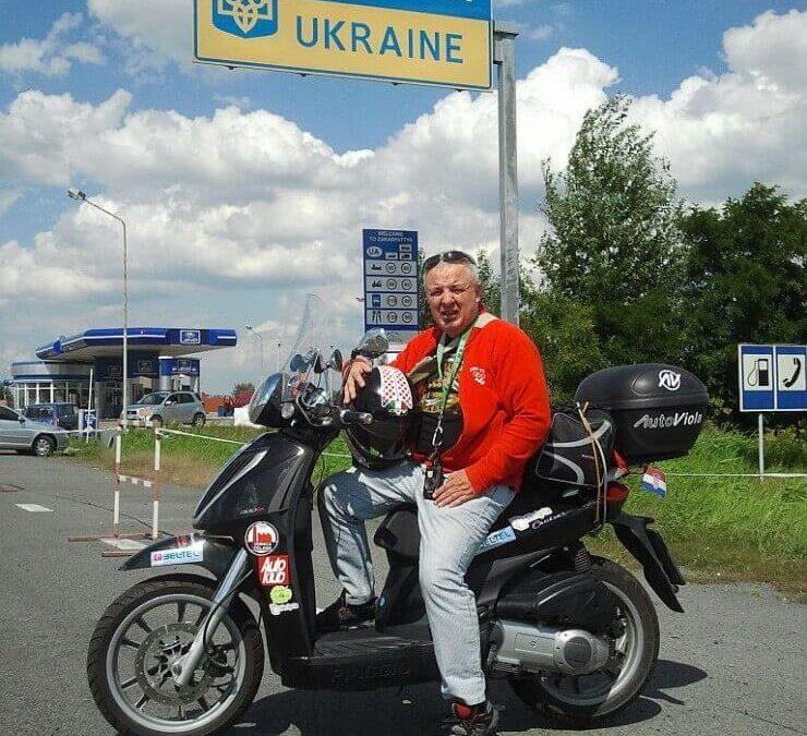 Skuterom od Osijeka do Staljingrada 1.dio
