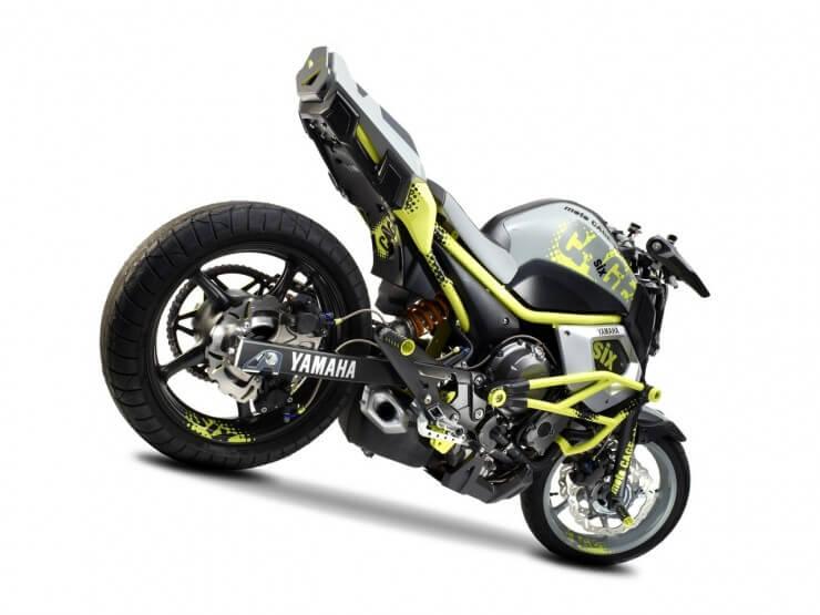 Intermot: Yamaha Concept Bike 'Moto Cage-Six'