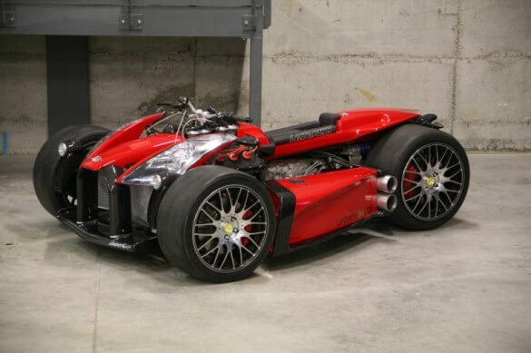 Lazareth Wazuma VF8 Quad Powered by Ferrari