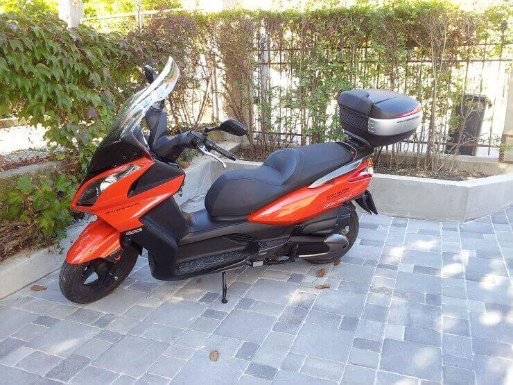 Kymco Downtown 300i ABS – 6.000 km