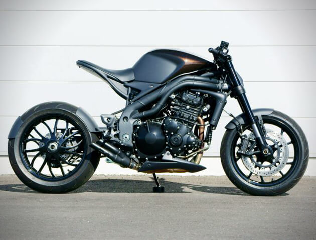 Stealth Triumph Speed Racer Motorcycle by Impoz