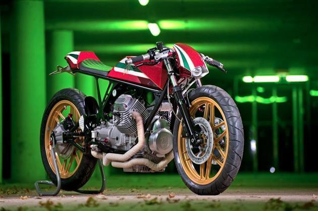 Moto Guzzi V50 Custom