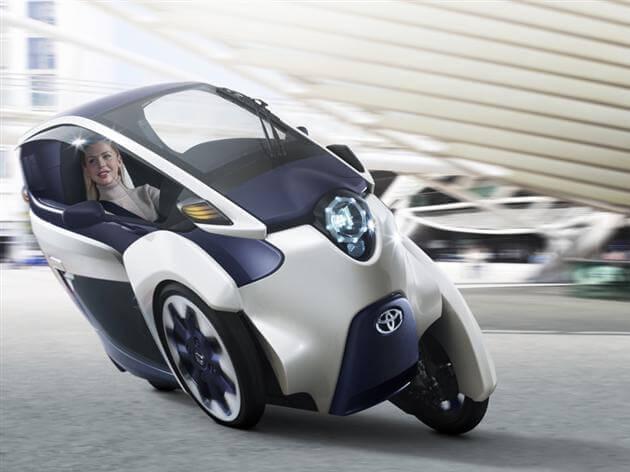 Toyota i-Road: Japanski jednosjed