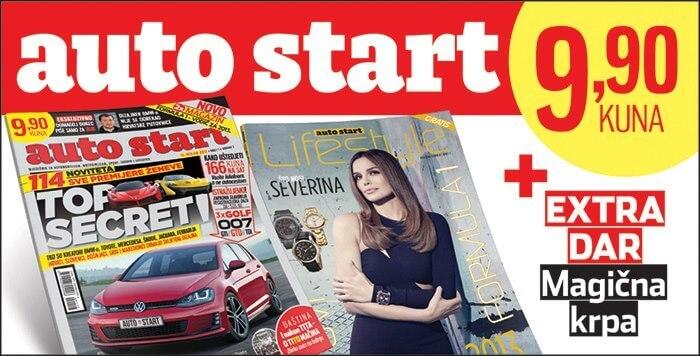 """Novi mjesečnik """"auto start"""" na svim kioscima"""