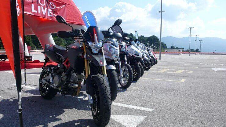 Piaggio Moto Live Tour u Puli