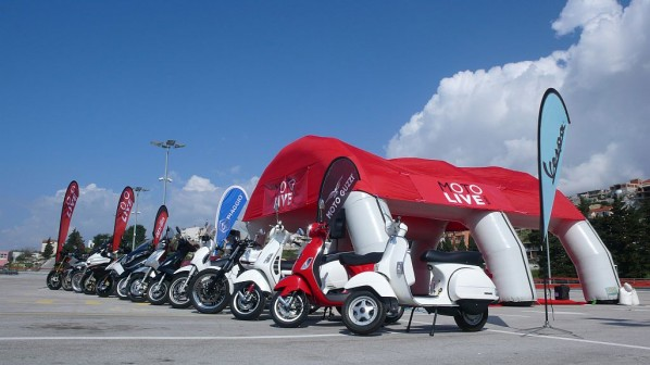 piaggio moto live tour pula