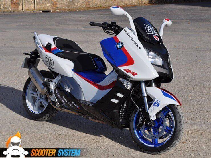 BMW C 600 Sport RR by Panda Moto