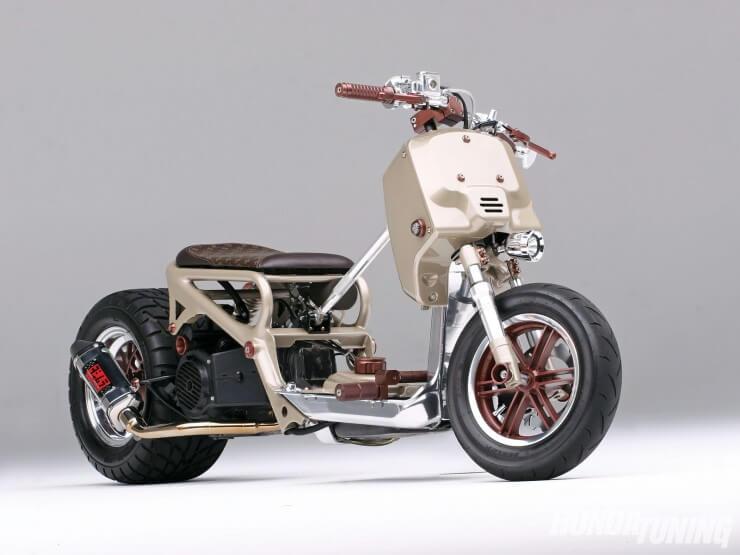Honda Ruckus Custom: LV Project