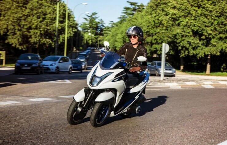 Yamaha Tricity za 2014.