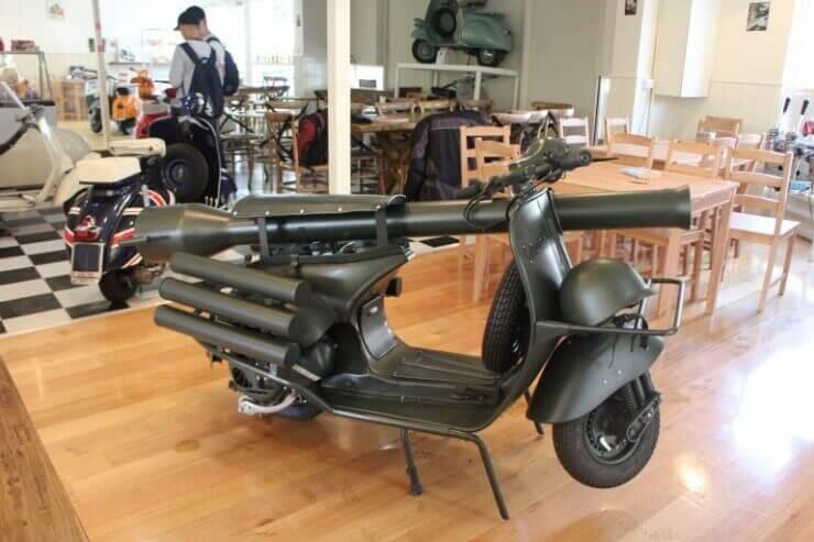 VESPA 150 TAP za probijanje tenkova
