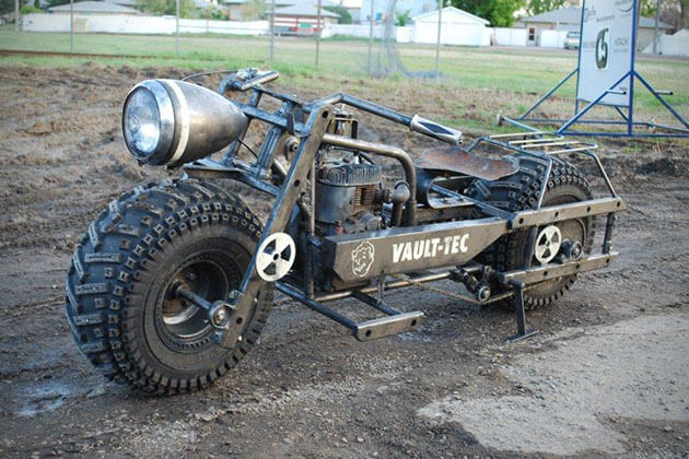 FALLOUT 3 MOTORCYCLE