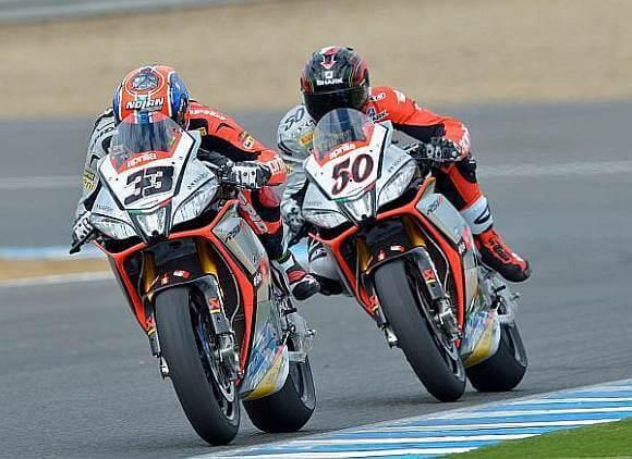 Aprilia dominirala na Jerezu