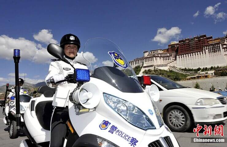 Piaggio MP3 za kineske milicajke